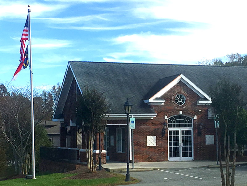 Village of Alamance Town Hall Building