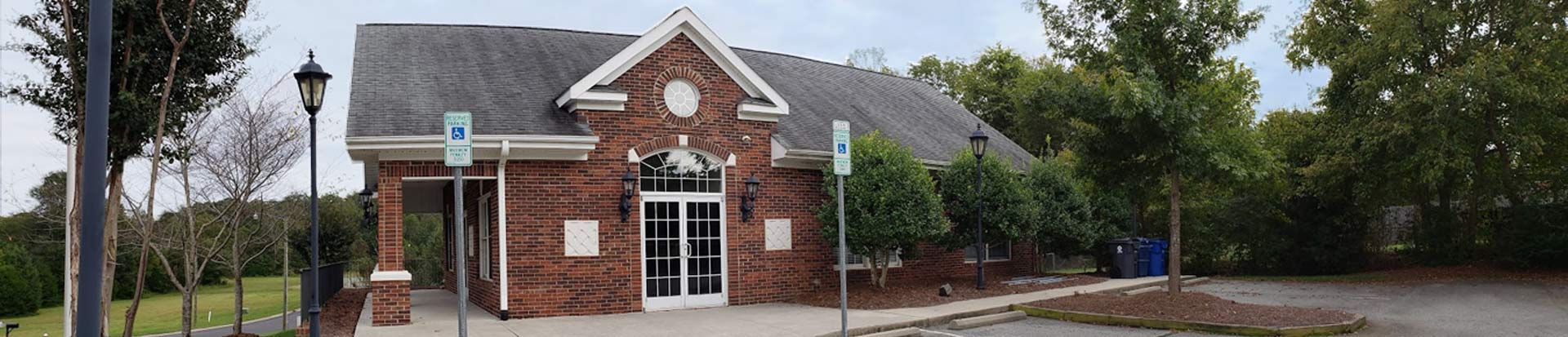 Village of Alamance Town Hall Banner