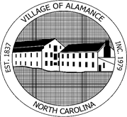 Village of Alamance Dark Logo
